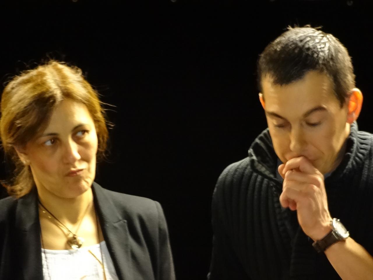Assia et Christophe