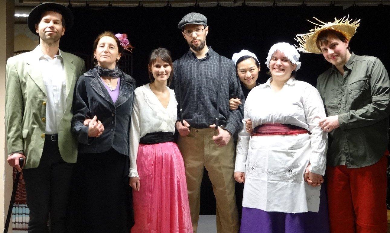 Théâtre amateur à Saint Gildas des bois (44)